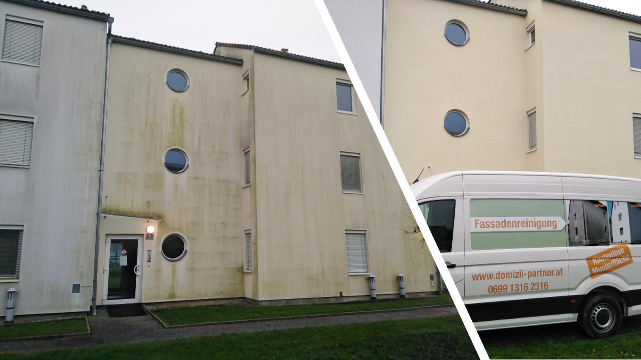 Fassadenreinigung_Vorher_Nachher_Gssendorf